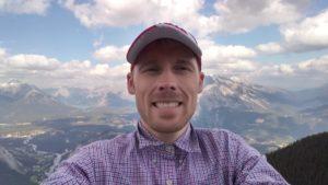 Selfie at Banff