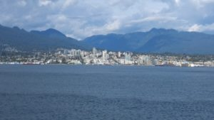 The breathtaking views from downtown Vancouver
