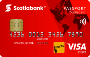 Scotiabank Passport Debit Card